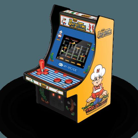 micro arcade burger time